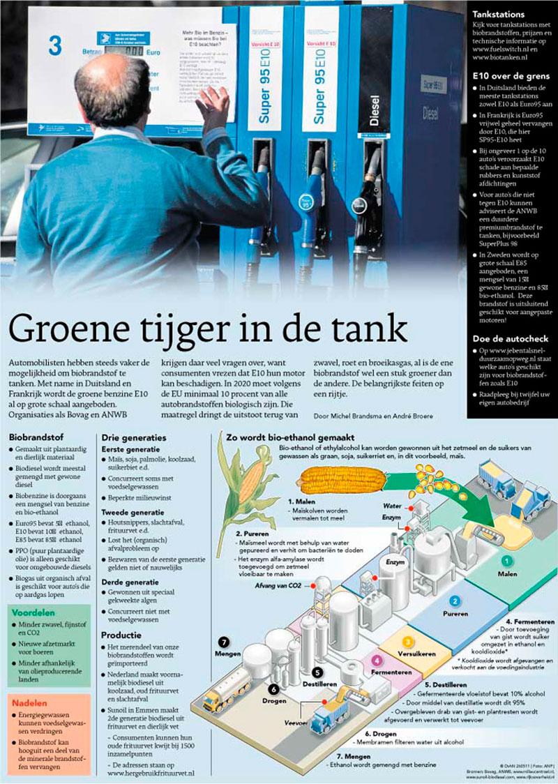 tijger in de tank